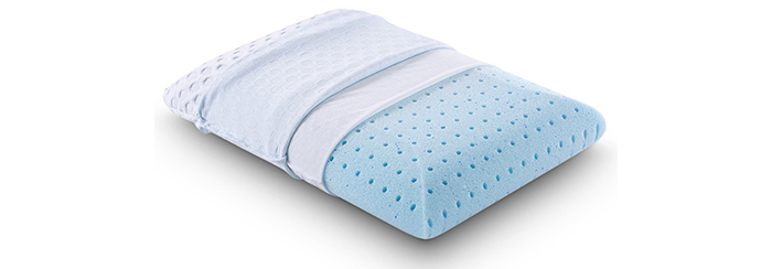 Cr-Sleep-Ventilated-Memory-Foam-Bed-Pillow-with-AirCell-Technology