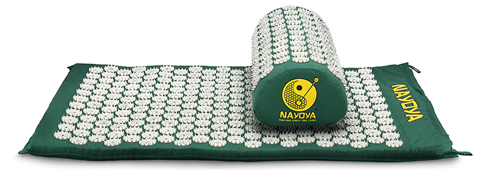Nayoya-Back-and-Neck-Pain-Relief---Acupressure-Mat-and-Pillow-Set