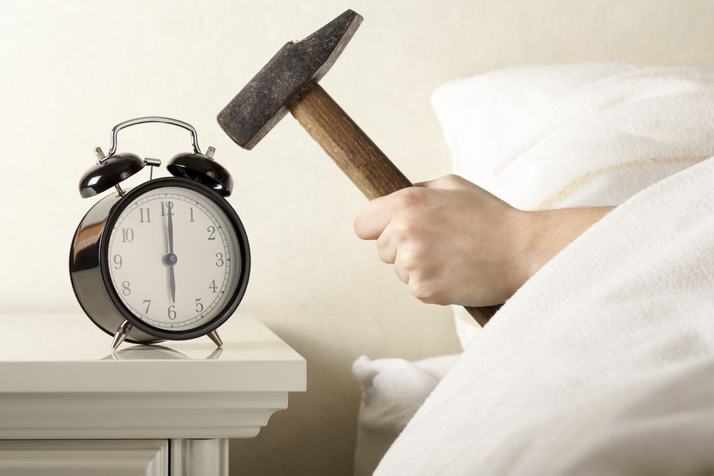 how much sleep do you really need - smashing alarm clock