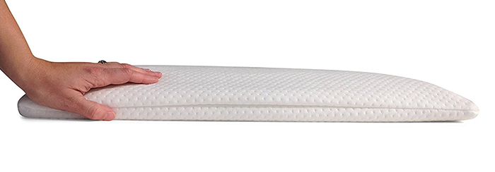 Home-Luxury-Living-2.5-Inch-Ultra-Thin-Memory-Foam-Pillow