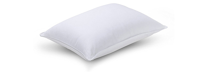 Luxuredown-White-Goose-Down-Pillow,-Medium-Firm