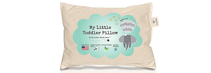 Toddler-Pillow-100%-ORGANIC-Cotton-HYPOALLERGENIC