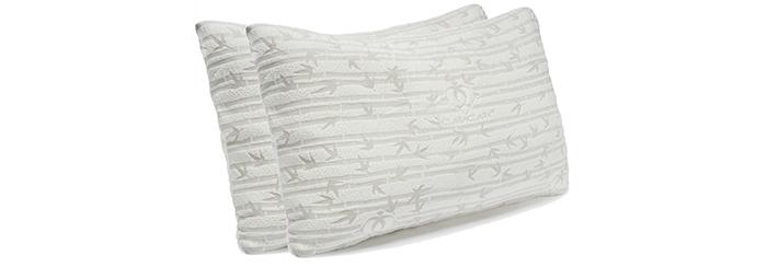 clara-clark-Premium-Shredded-Hypoallergenic-Certipur-Memory-Foam-Pillow