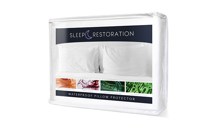Sleep-Restoration-100%-Waterproof-Pillow-Protector