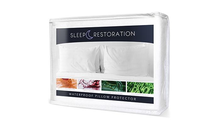 Sleep-Restoration-100%-Waterproof-Pillow-Protector